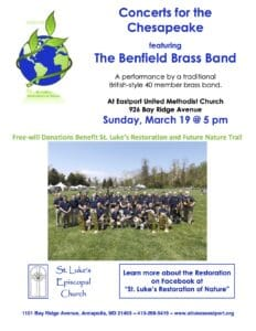 2017March Concert Benfiled Brass Band