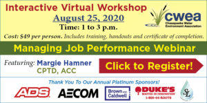Managing Job Performance Webinar • Interactive Virtual Workshop