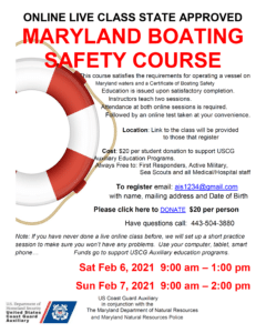 MD Boating Safety Coiur